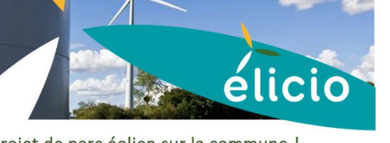 Un nouveau projet de parc éolien