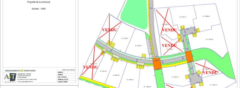 Les lotissements de Park Hastel et Goarem Morvan commencent à se remplir….